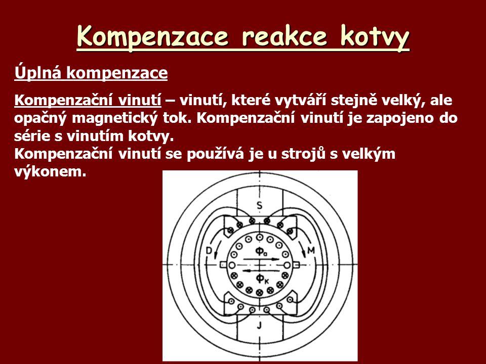 Kompenzace reakce kotvy
