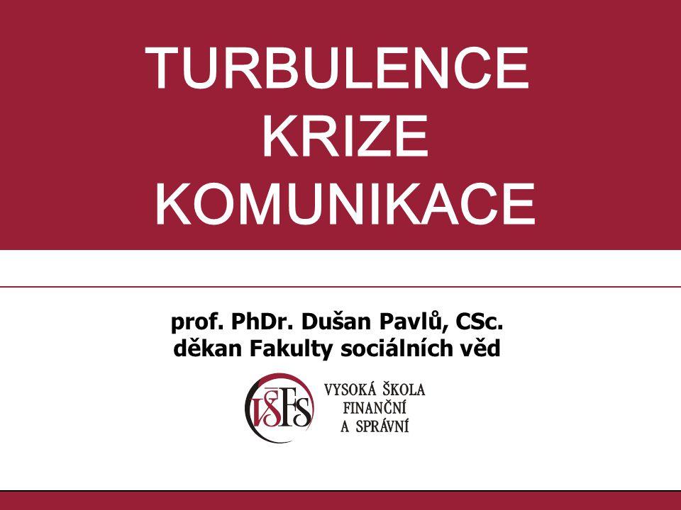 prof. PhDr. Dušan Pavlů, CSc. děkan Fakulty sociálních věd