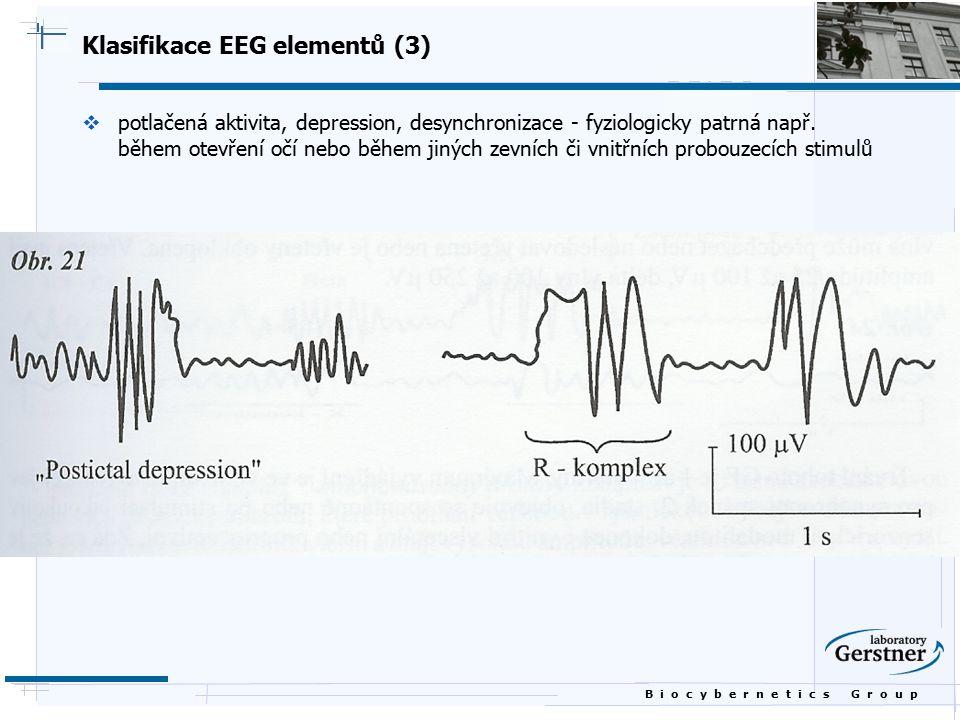 Klasifikace EEG elementů (3)
