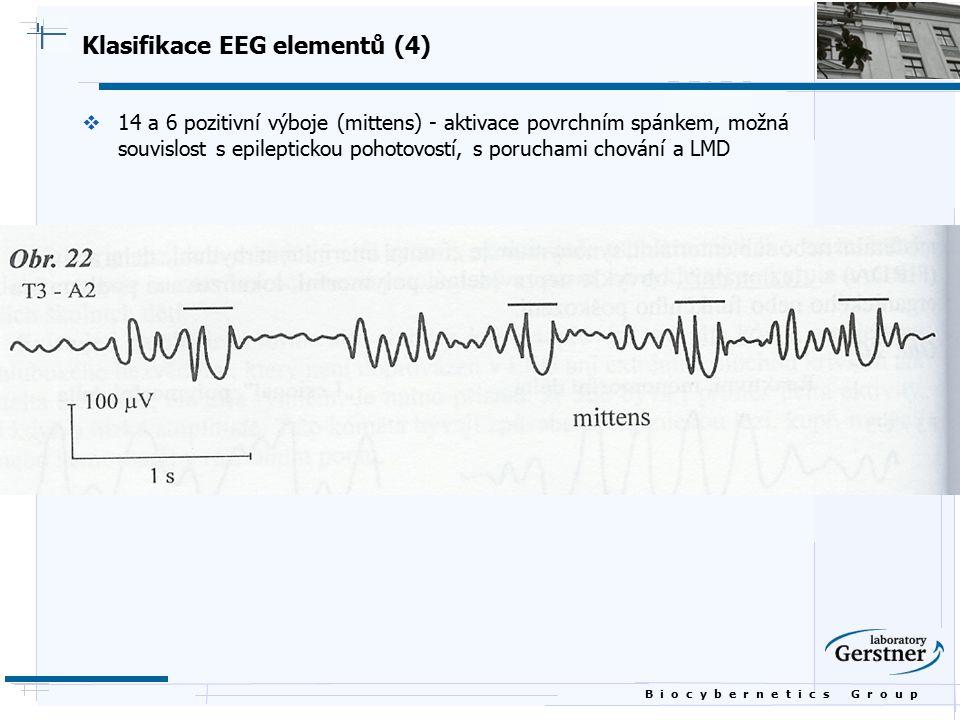 Klasifikace EEG elementů (4)