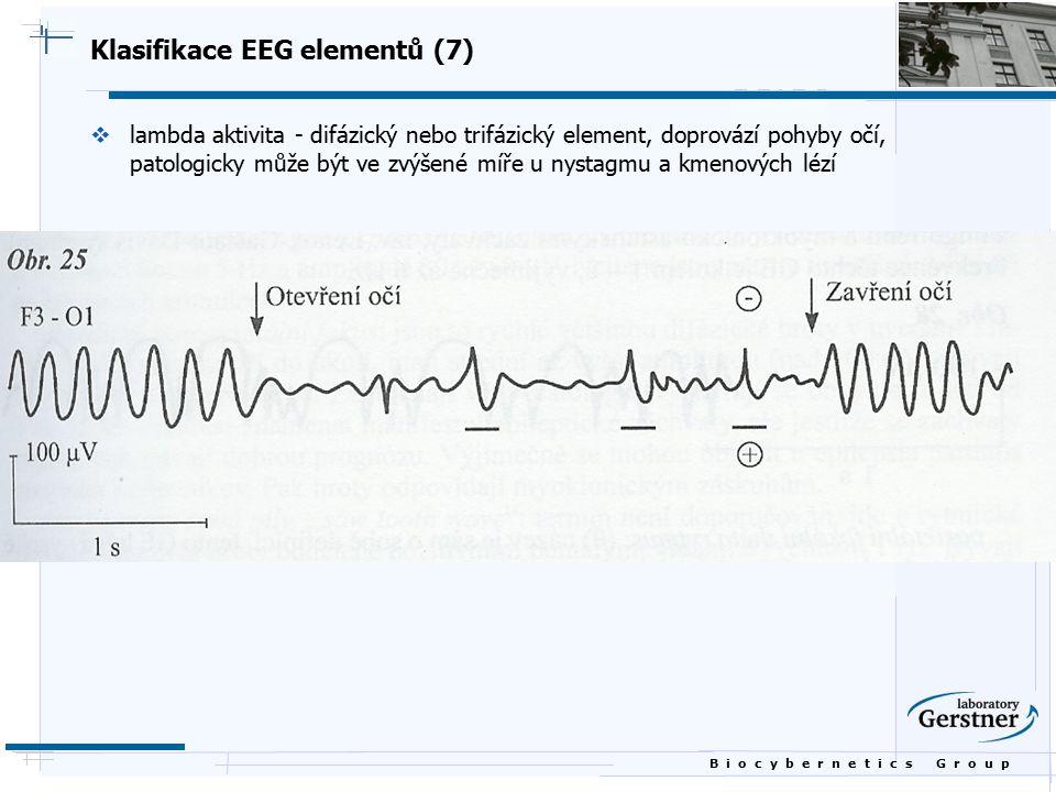 Klasifikace EEG elementů (7)
