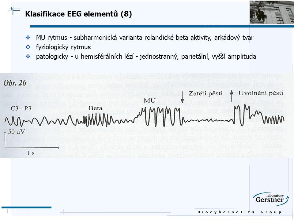 Klasifikace EEG elementů (8)