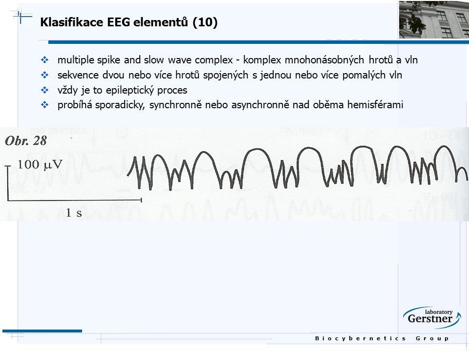Klasifikace EEG elementů (10)