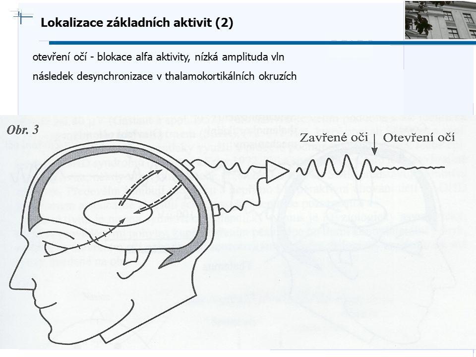 Lokalizace základních aktivit (2)