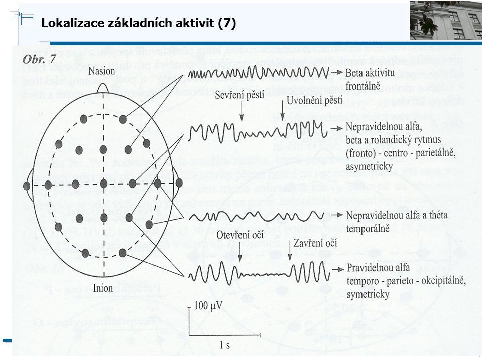 Lokalizace základních aktivit (7)
