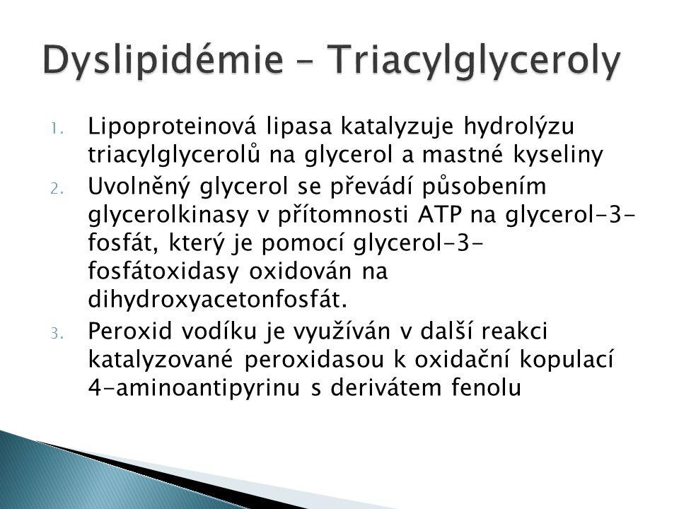 Dyslipidémie – Triacylglyceroly