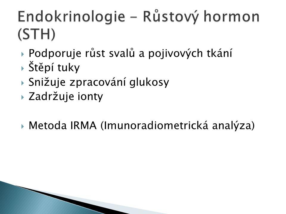 Endokrinologie - Růstový hormon (STH)