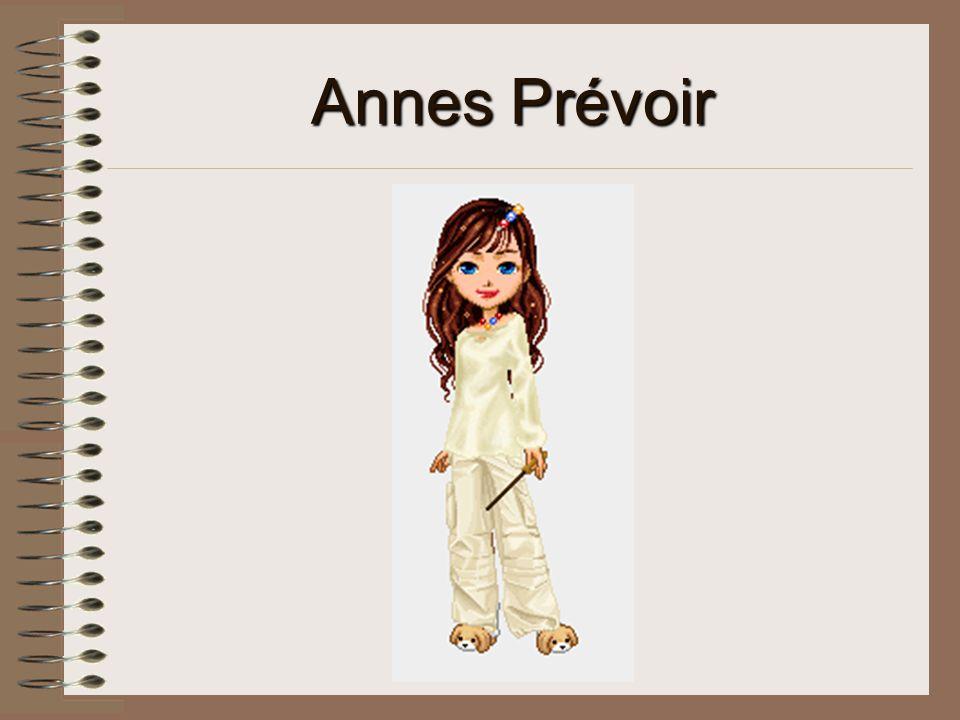 Annes Prévoir