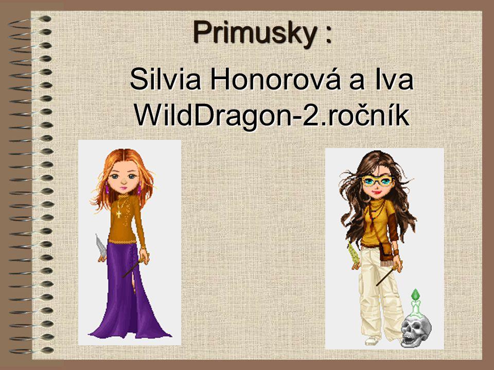 Silvia Honorová a Iva WildDragon-2.ročník