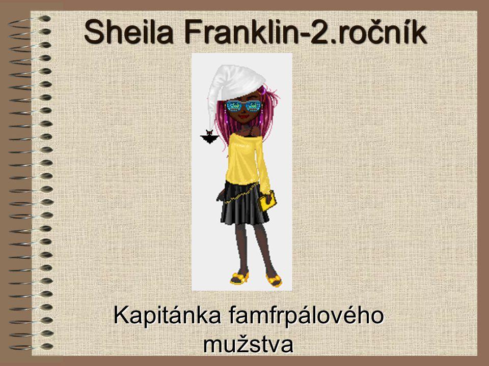 Sheila Franklin-2.ročník