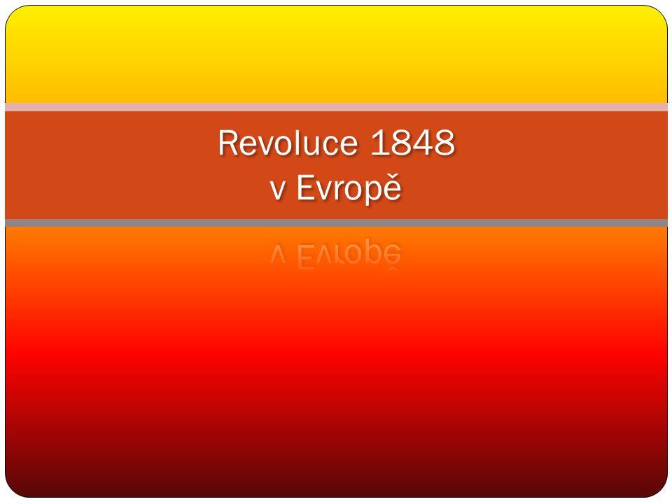 Revoluce 1848 v Evropě