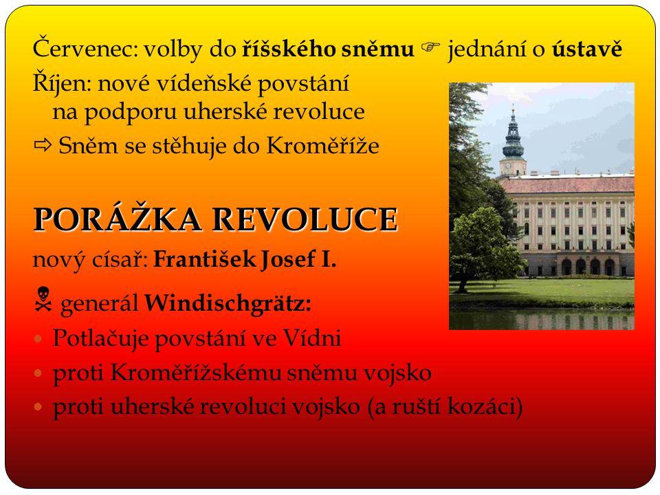  generál Windischgrätz: