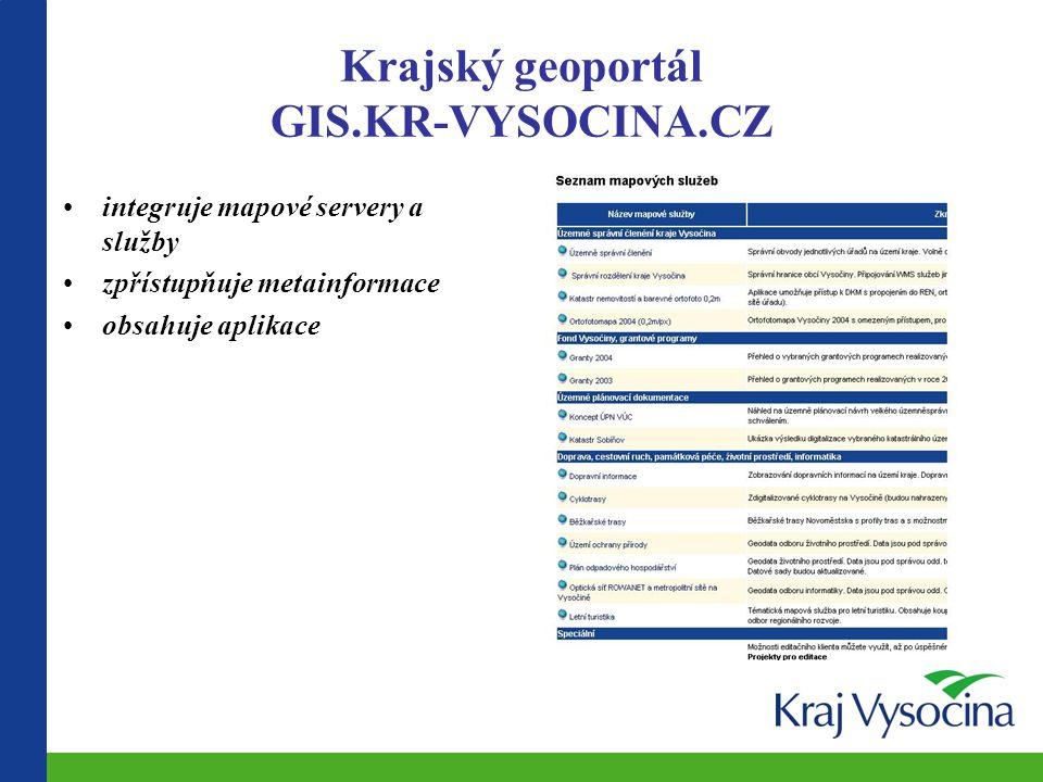 Krajský geoportál GIS.KR-VYSOCINA.CZ