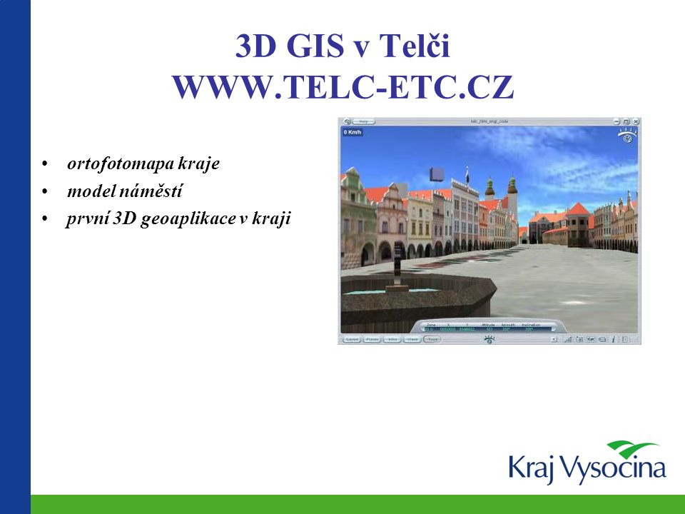 3D GIS v Telči WWW.TELC-ETC.CZ