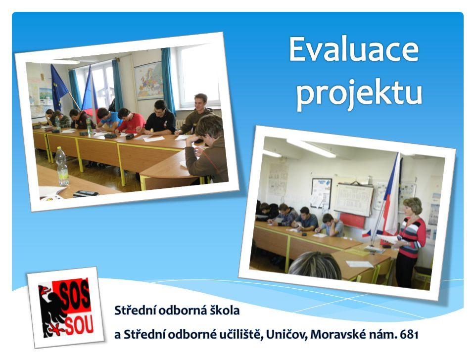 Evaluace projektu Střední odborná škola