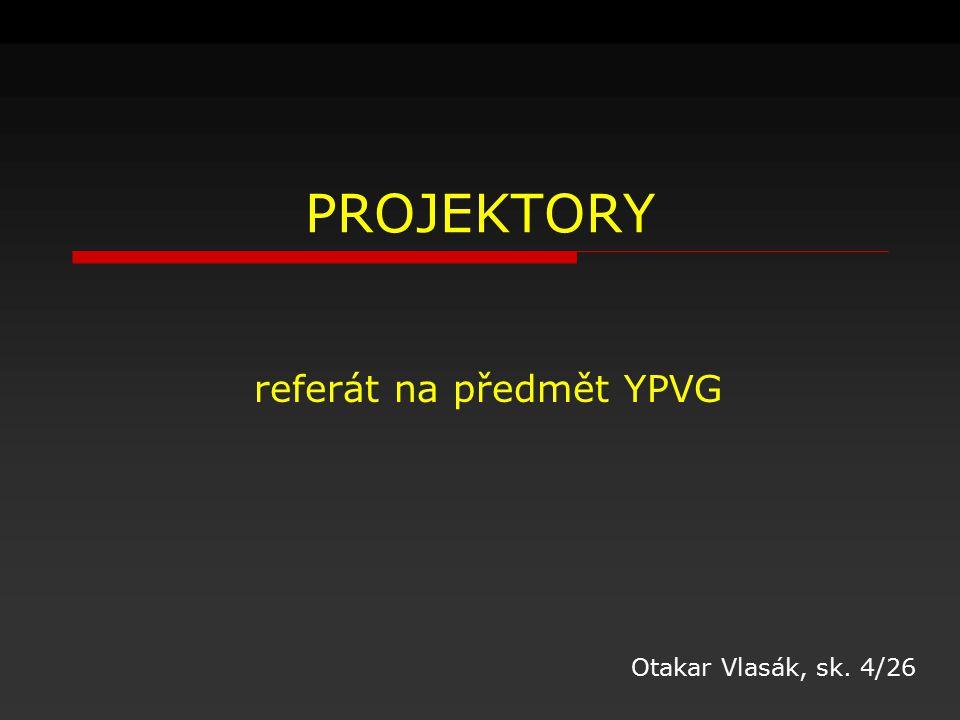 referát na předmět YPVG
