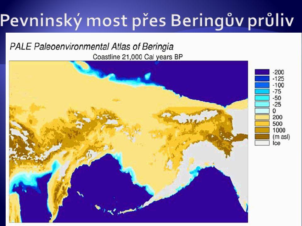Pevninský most přes Beringův průliv