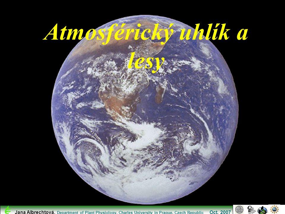 Atmosférický uhlík a lesy