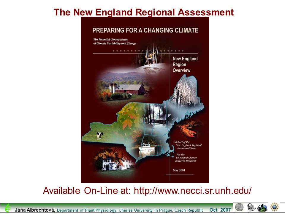 The New England Regional Assessment