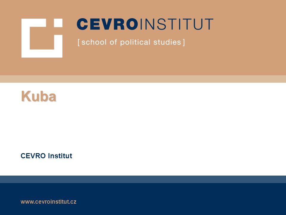 Kuba CEVRO Institut