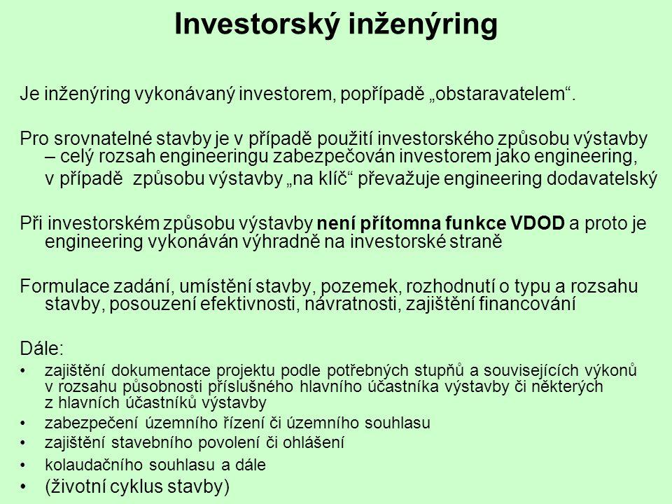Investorský inženýring
