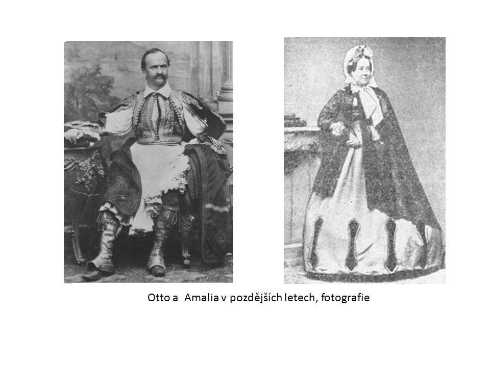 Otto a Amalia v pozdějších letech, fotografie
