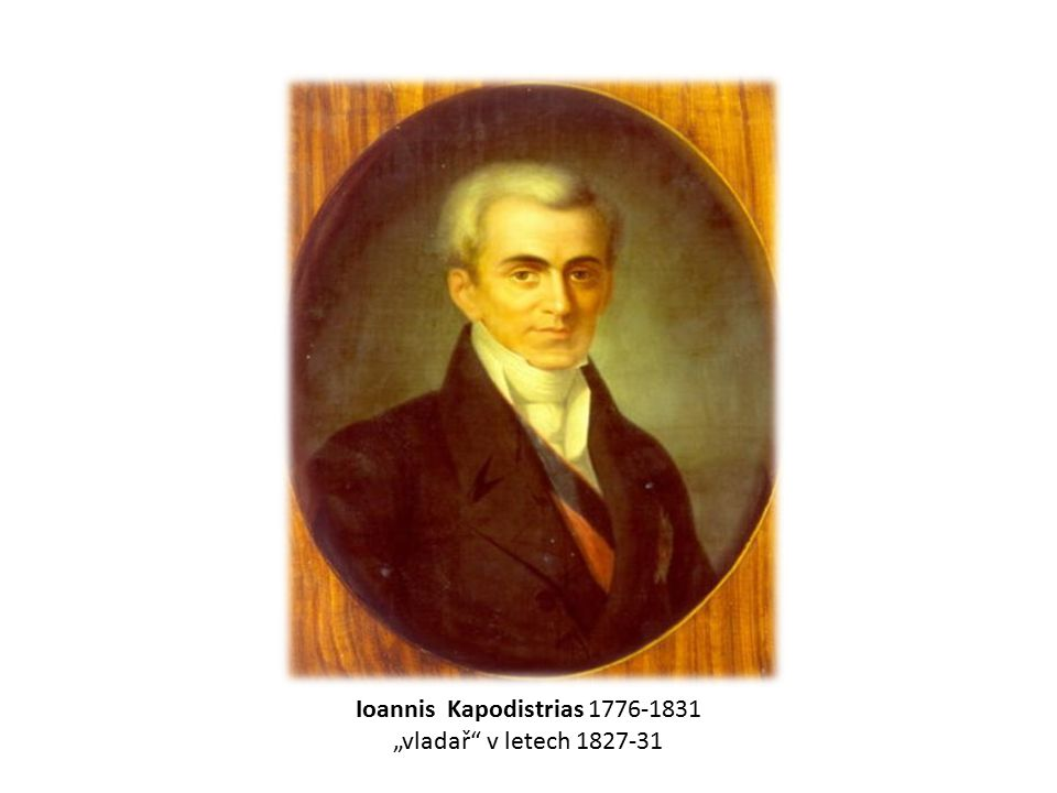 Ioannis Kapodistrias 1776-1831