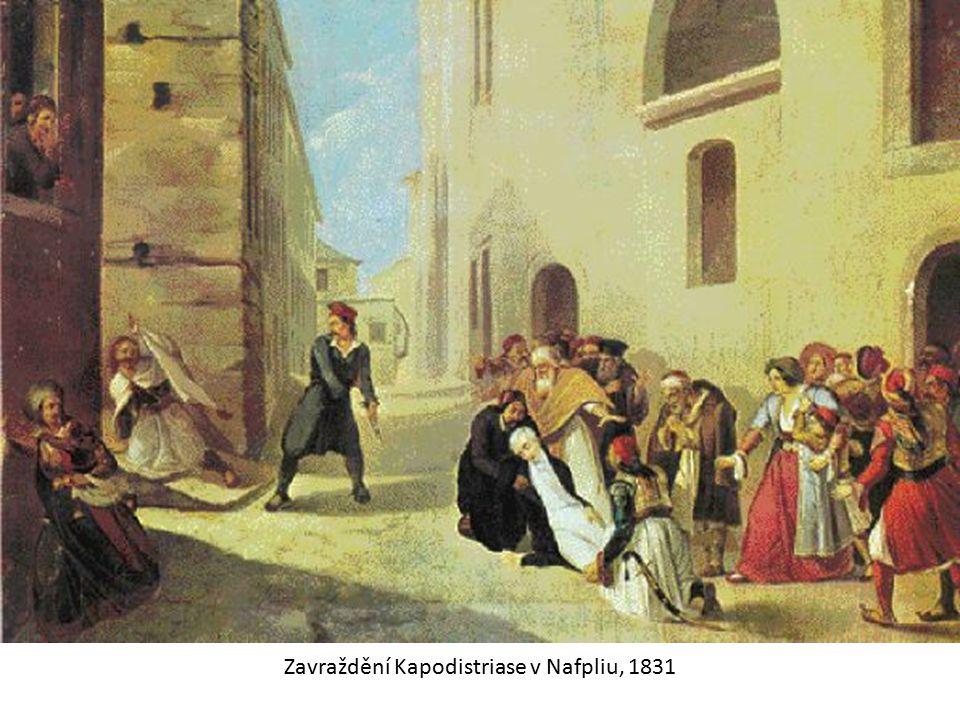 Zavraždění Kapodistriase v Nafpliu, 1831