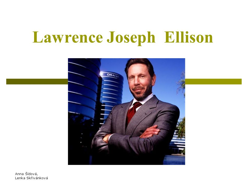 Lawrence Joseph Ellison