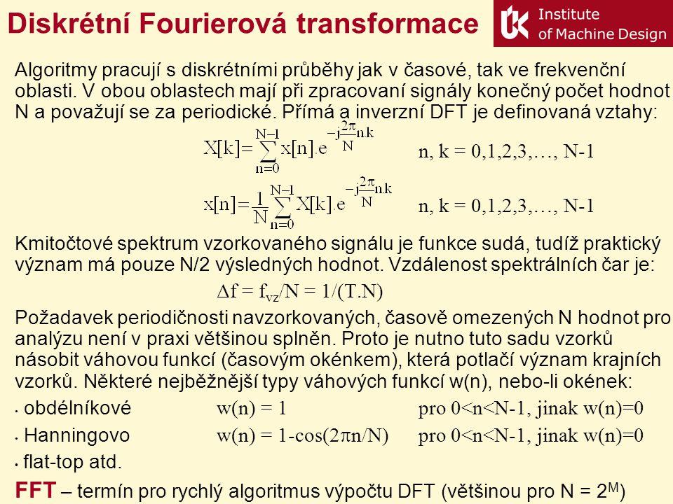 Diskrétní Fourierová transformace