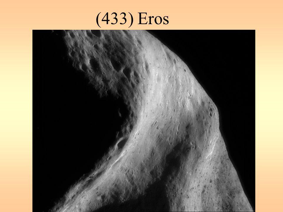 (433) Eros Eros má 13x13x33 km