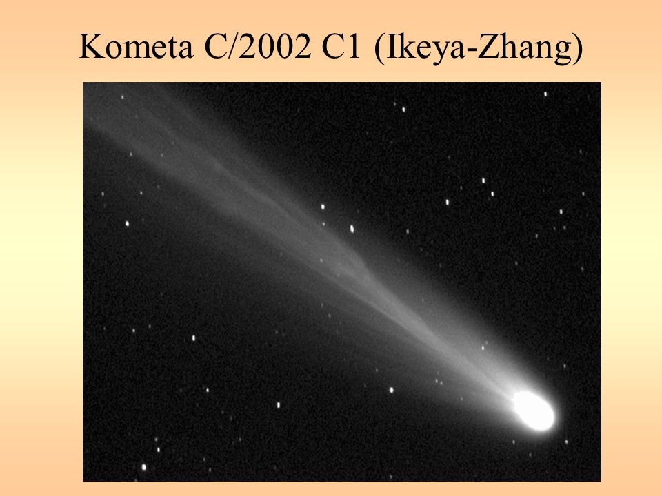 Kometa C/2002 C1 (Ikeya-Zhang)