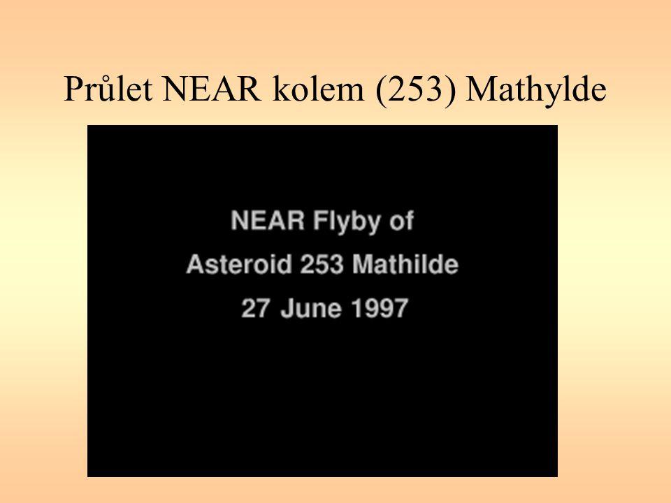 Průlet NEAR kolem (253) Mathylde