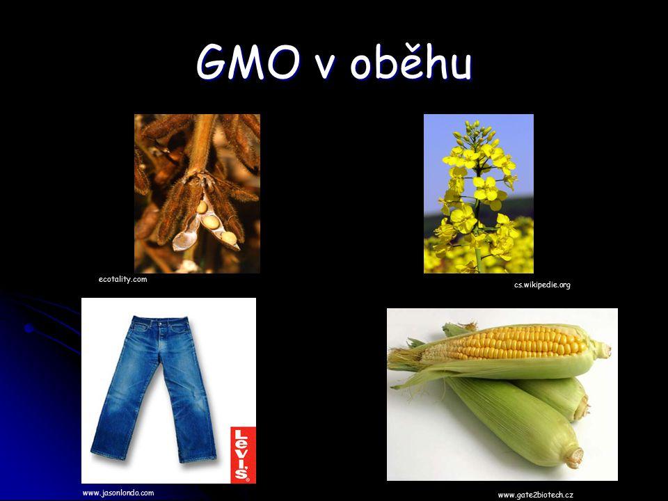 GMO v oběhu ecotality.com cs.wikipedie.org www.jasonlondo.com