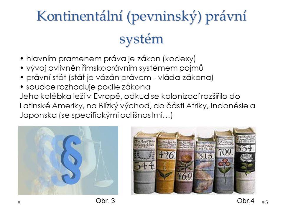 Kontinentální (pevninský) právní systém