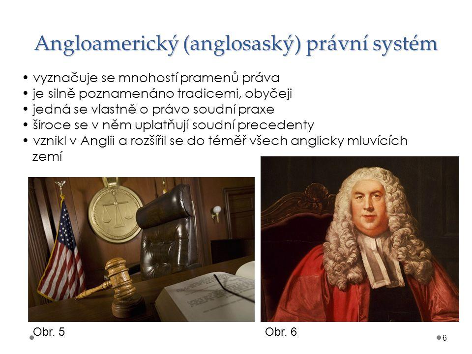 Angloamerický (anglosaský) právní systém