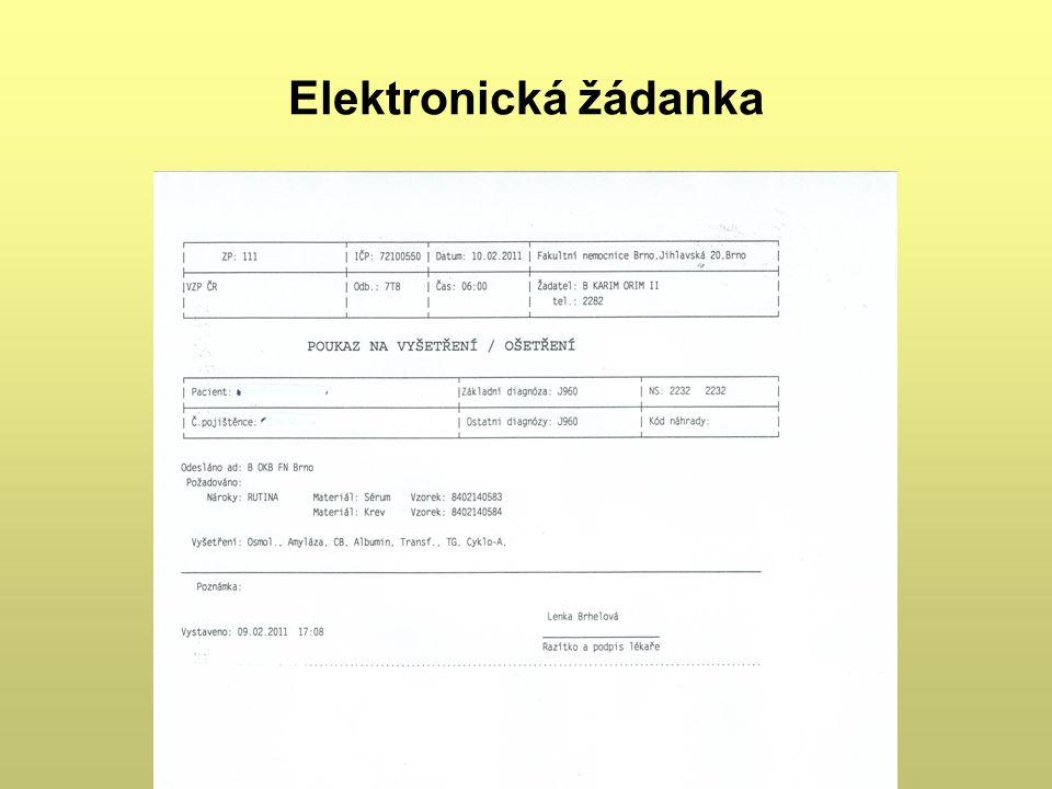 Elektronická žádanka