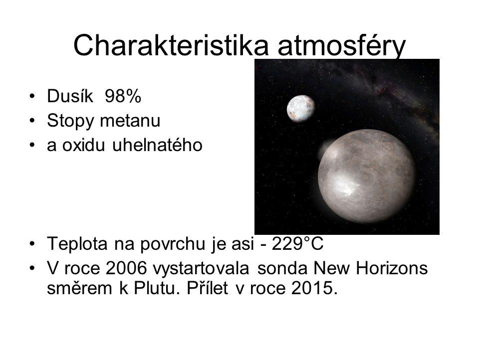 Charakteristika atmosféry