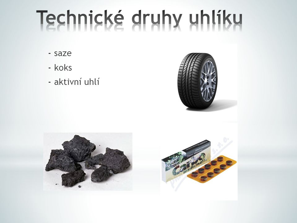 Technické druhy uhlíku