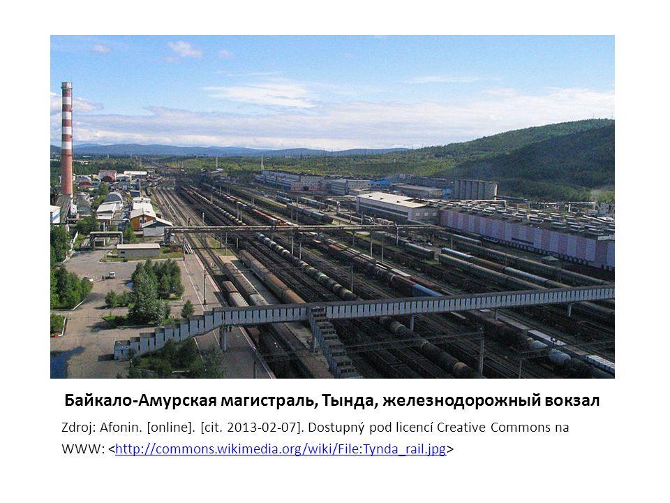 Байкало-Амурская магистраль, Тында, железнодорожный вокзал