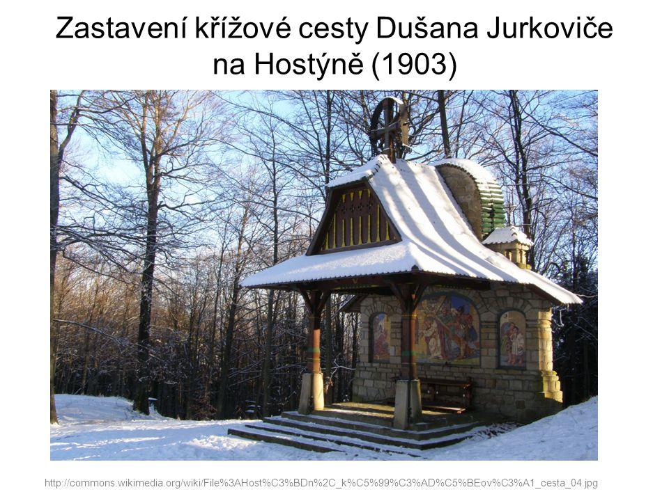 Zastavení křížové cesty Dušana Jurkoviče na Hostýně (1903)