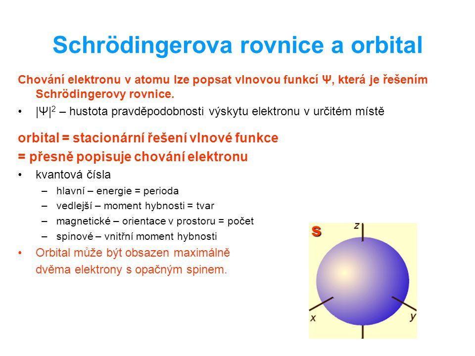 Schrödingerova rovnice a orbital