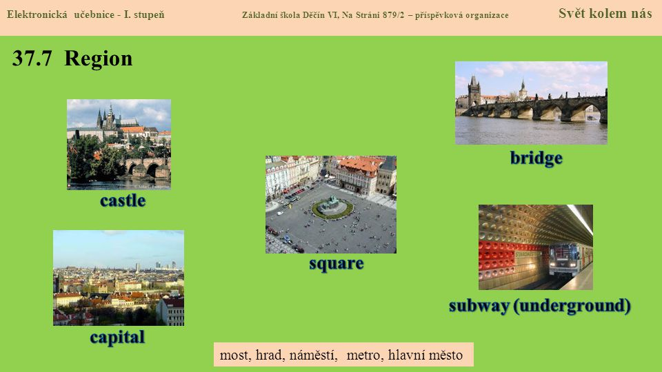 37.7 Region bridge castle square subway (underground) capital