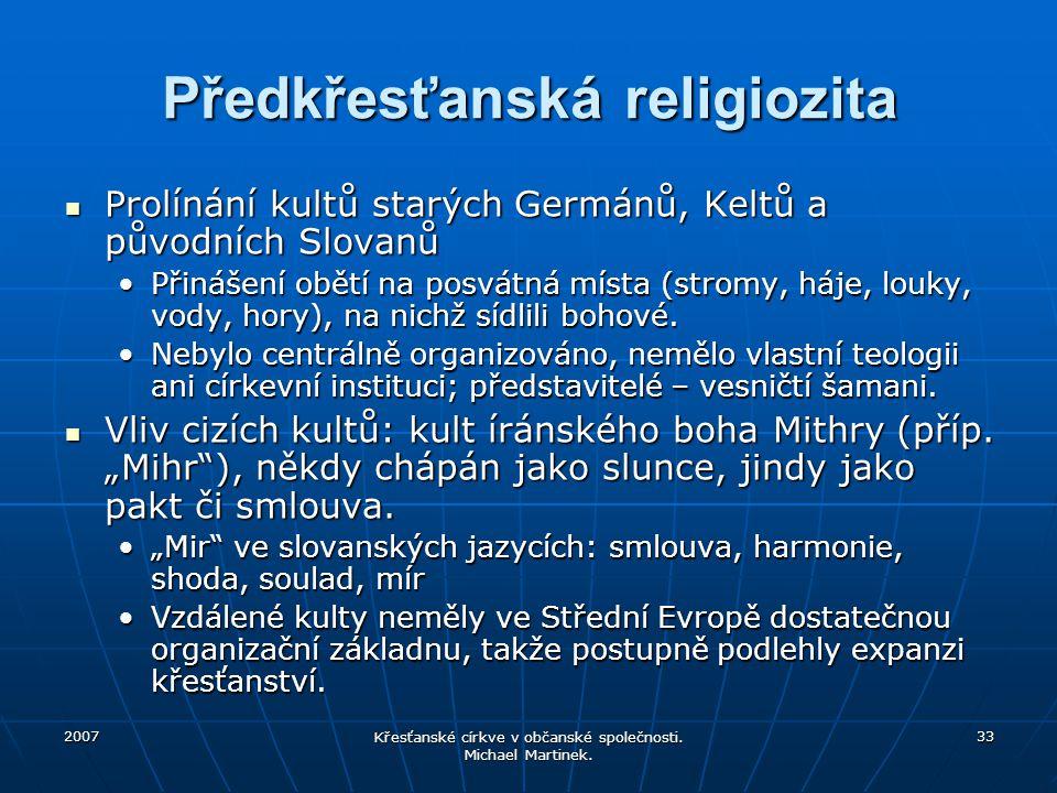 Předkřesťanská religiozita