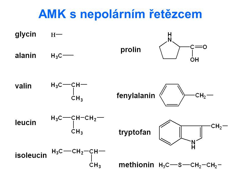 AMK s nepolárním řetězcem