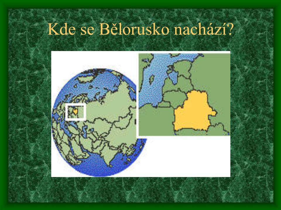 Kde se Bělorusko nachází