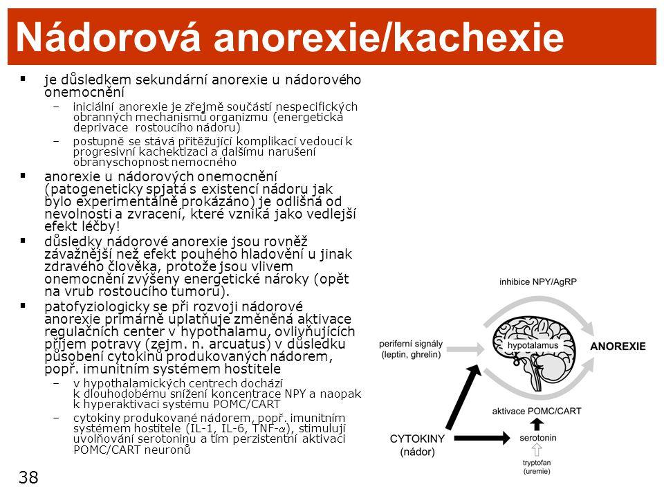 Nádorová anorexie/kachexie