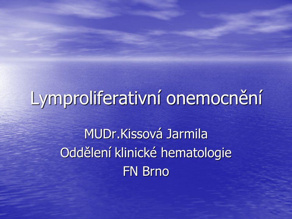 Lymproliferativní onemocnění