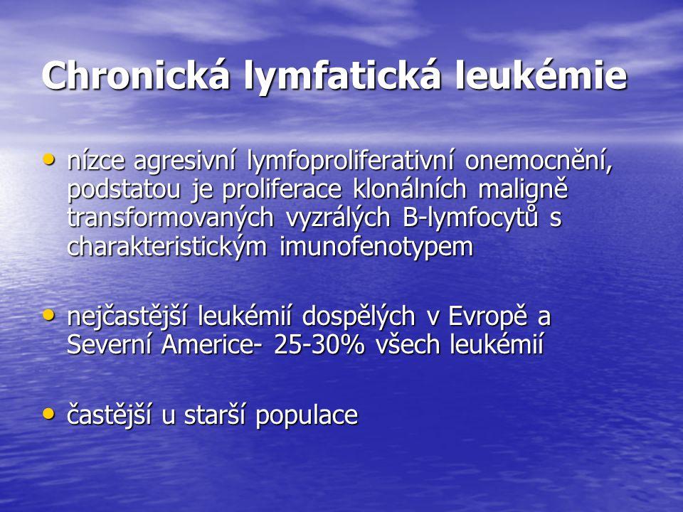 Chronická lymfatická leukémie