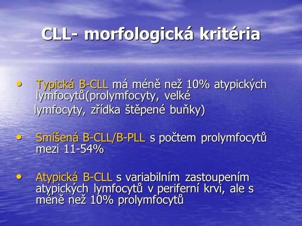 CLL- morfologická kritéria